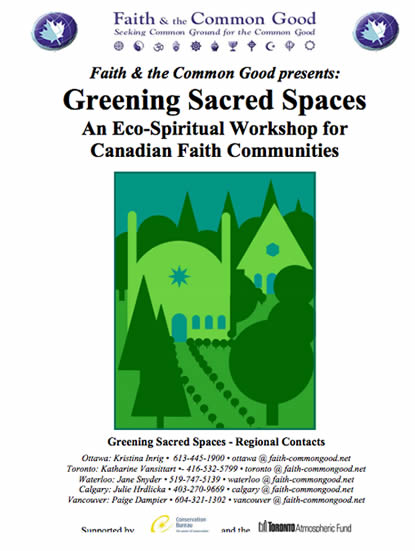 Greening Sacred Spaces Workshop