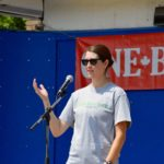 OBF - Laura presenting - Lisa Seiler photo